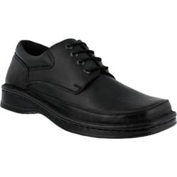 Men's Spring Step Arthur Oxford Black Leather