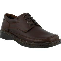 Men's Spring Step Arthur Oxford Brown Leather