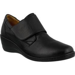 Women's Spring Step Corvo Slip On Black Leather
