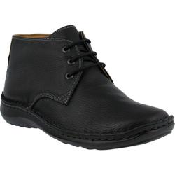 Men's Spring Step Mathias Chukka Boot Black Leather
