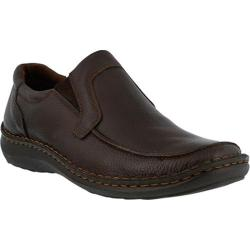 Men's Spring Step Niccolo Loafer Brown Tumbled Leather