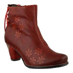 Women's L'Artiste by Spring Step Teca Bootie Red Leather