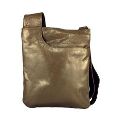 Women's Latico Athena Cross Body 7803 Metallic Olive Leather