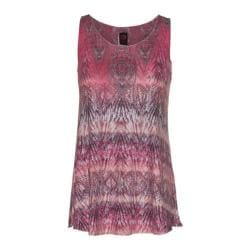 Women's Ojai Clothing Burnout Summertime Tank Top Coral