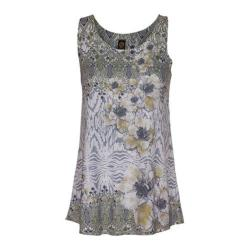 Women's Ojai Clothing Burnout Summertime Tank Top Daisy