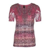 Women's Ojai Clothing Burnout Vee Coral