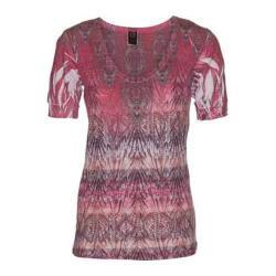 Women's Ojai Clothing Burnout Vee Coral