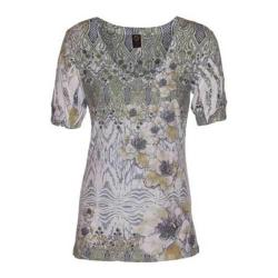 Women's Ojai Clothing Burnout Vee Daisy