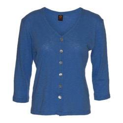 Women's Ojai Clothing Chopped Button Down Cardigan Chambray