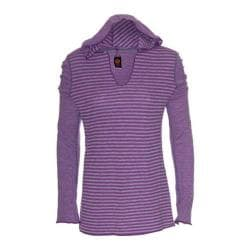 Women's Ojai Clothing Reversible Topa Hoody Iris
