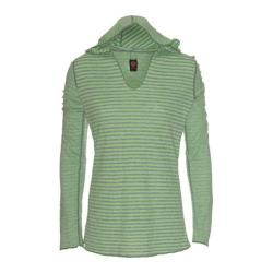 Women's Ojai Clothing Reversible Topa Hoody Mint