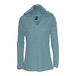 Women's Ojai Clothing Reversible Topa Hoody Turquoise