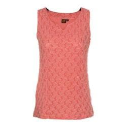 Women's Ojai Clothing Squash-It Tank Top Coral