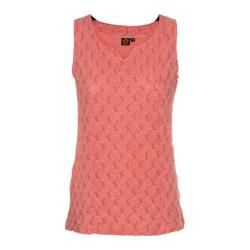 Women's Ojai Clothing Squash-It Tank Top Coral