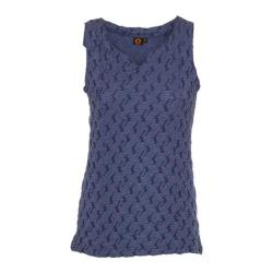 Women's Ojai Clothing Squash-It Tank Top Indigo