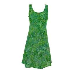 Women's Ojai Clothing Weekend Sleeveless Dress Moroccan Green