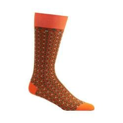Men's Ozone Crescent Waves Socks Orange