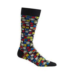 Men's Ozone Cubist Composition Socks Black