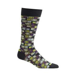 Men's Ozone Cubist Composition Socks Grey