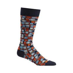 Men's Ozone Cubist Composition Socks Navy