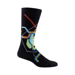 Men's Ozone DC Subway Map Socks (2 Pairs) Black