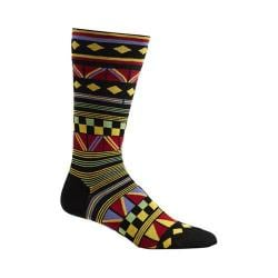 Men's Ozone Hamil Stripe Socks (2 Pairs) Black