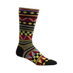 Men's Ozone Hamil Stripe Socks (2 Pairs) Black