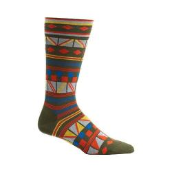 Men's Ozone Hamil Stripe Socks (2 Pairs) Fougere