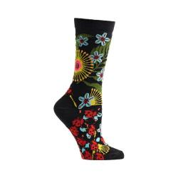 Women's Ozone Insect Warrior Crew Socks (2 Pairs) Black