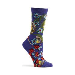 Women's Ozone Insect Warrior Crew Socks (2 Pairs) Violet