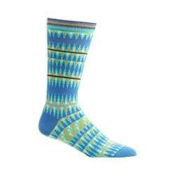 Men's Ozone Kente Spears Socks (2 Pairs) Blue