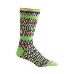 Men's Ozone Kente Spears Socks (2 Pairs) Green
