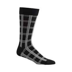 Men's Ozone Masaii Plaid Socks (2 Pairs) Black