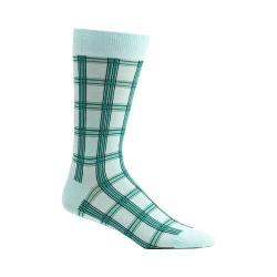 Men's Ozone Masaii Plaid Socks (2 Pairs) Blue