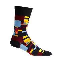 Men's Ozone Radical Geometry Socks Black