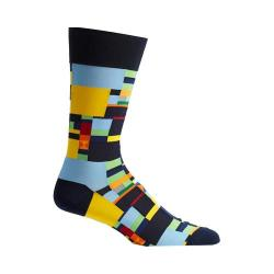 Men's Ozone Radical Geometry Socks Navy