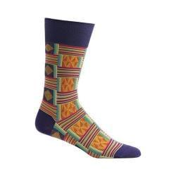 Men's Ozone Sahara Patchwork Socks Violet