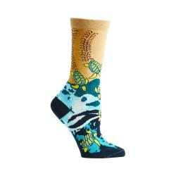 Women's Ozone Sea Turtle Crew Socks (2 Pairs) Navy