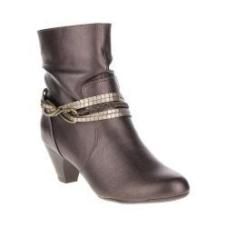 Women's Soft Style Gayla Ankle Boot Gunmetal Vitello