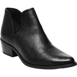 Women's Steve Madden Austin Bootie Black Leather