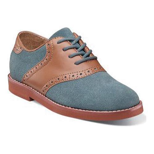 Boys' Florsheim Kennett Jr. Saddle Shoe Chalk Blue Multi ...