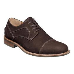 Men's Florsheim Frisco Cap Toe Oxford Brown Nubuck