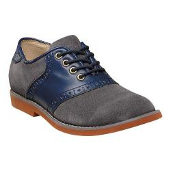 Boys' Florsheim Kennett Jr. Saddle Shoe Navy Multi (More options available)