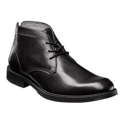 Men's Florsheim Mogul Chukka Boot II Black Smooth Leather