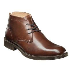 Men's Florsheim Mogul Chukka Boot II Cognac Smooth Leather