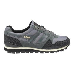 Men's Gola Ridgerunner II Casual Sneaker Grey/Black Nylon
