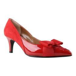 Women's J. Renee Machealle Pump Red Fabric