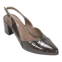 Women's Rialto Mimi Slingback Ash Croco/Patent/Synthetic