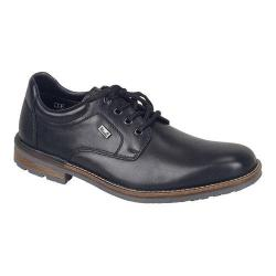 Men's Rieker-Antistress Johnny Plain Toe Derby Black/Black Leather