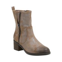 Women's Clarks Nevella Devon Low Boot Dark Taupe Cow Suede